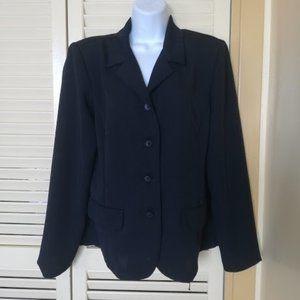 Specer Tylar Black Unlined Jacket Size 10